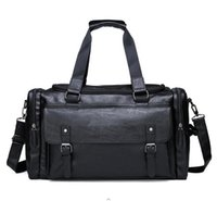 Duffel Bags Large Tote Shoulder Men Handbags Designer Backpack Sports Mens Male Overnight Female PU Leather Travel Duffle