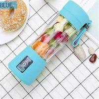 Portátil USB Fruta eléctrica Juicer de mano Maquillador de jugo de jugo de vegetal Lanza recargable Mini jugo de fabricación de taza con cable de carga