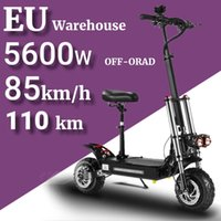 Strong power Off-Road Electric Scooter 11 Inch 60V 5600W adult High Speed Dual Drive Folding Vehicle