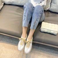 Satış Ayakkabı Hava Yastık Sneakers Nefes Kalın Taban Bayanlar Platformu Eğitmenler Kadın Yüksekliği Artan Koşu Ayakkabıları Artı Boyutu Spor Sho