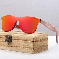 Выходы аксессуаров Helloworld Частный лейбл Ray Gafas de Madera Band Polarized Unisex Wood деревянные солнцезащитные стекло на заказ бамбуковая рамка солнцезащитные очки для женщин