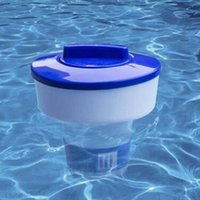 Swimming Pool Floating Sterilizer 5 Inch Chlorine Bromine Tablet Tab Floater Dispenser Accessories &