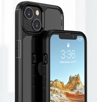 Mobile Phone Cases For iphone 13 pro max mini Heavy Duty Shockproof Matte Skin Soft Edge Transparent clear 1.5MM tpu acrylic PC Protective Back Cover