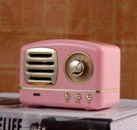Retro Bluetooth Speaker HM11 Wireless Bluetooth soundbar Mini Speakers Loudspeaker 3D Stereo HiFi Sound TF Party Favor