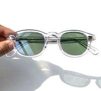 Luxury designer glasses Lemtosh Johnny Depp Style HQ Eyewear Green G15 Lens Professional Customize Prescription Myopia Progressive Sunglasses UV400 9EY9 KJYS