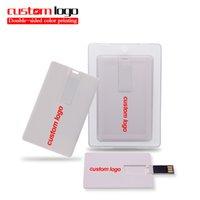 USB Flash Drives 16GB 32GB Memory Stick Pen Drive 64GB 16GB 4GB Memoria U Disk Credit Card