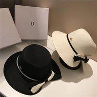 Collapsible Holiday Beach Hüte Hohe Qualität Sonnenhut Womens Wide Krempe Hüte Flut 2 Farben Fischer Hüte