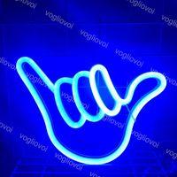 LED Neon Sign SMD2835 INTERIOR INSUMENTE INSSIÓN DE DINGO 6 Modelo con batería BPX Holiday Fiesta de Navidad Decoraciones de la boda Lámparas de mesa EUB