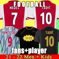 20 21 J AX 축구 유니폼 FC 2021 Kudus Antony Blind Proms Tadic Neres Cruyff Men 키트 키트 축구 셔츠 유니폼 30 번째