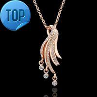 18KRGPN069 LKN18KRGPN069 sterling silver pendant fashion jewelry necklaces for women