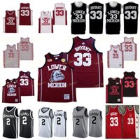 NCAA Uconn Huskies Spezielle Tribute College Gianna Maria onore 2 Gigi Mamba Unterer Mersion 33 44 Bryamt High School Memorial Basketball Trikots