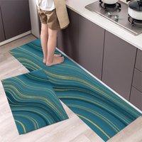 Carpets Fashionable Simple Nordic StyleWaterproof Kitchen Floor Mat Household Carpet Long Strip Door Modern Home Decor