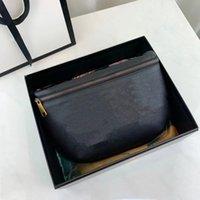 유니섹스 브랜드 LUXURYS 디자이너 가방 2021 어깨 크로스 바디 탑 패션 고품질 허리 가방 (28cm)