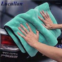 Лукуллан 1400GSM Super Soft Premium Microfiber Сушил Cltoth Ultra Applybaction Aqua Deluxe Car Wash Towel Sponge1
