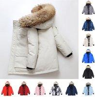 2021 men winter canadian jacket parker black label Down coat canada women fleese long leather collar cap warm fur stylish canadas goose mens womens classic tops