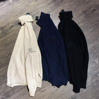 Erkekler Kaplumbağa Boyun Kazak Adam Uzun Kollu Giysi Çocuk Moda Hoodies Sonbahar Kış Açık Tarzı Ins Casual Basit En Yüksek Kaliteli Unisex