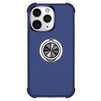 Kickstand Phone Cases For Iphone 13 12 Pro Max Mini 11 XSMAX XR XS X 8 7 SE2020 Samsung S20 S21 Ultra Ring stand Magnetic Car Support Case Cellphone Back Cover