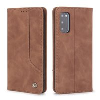 Flip Leather Magnetic Phone case For Samsung Galaxy S20 FE 5G M51 A10 A20 A30 A40 A50 A70 A10S A20S Wallet Card Holder Kickstand