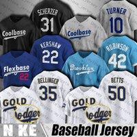 GoldProgram 50 Mookie Betts 35 Cody Bellinger Baseball Jersey 22 Clayton Kershaw Justin Turner MAX SCHERZER Muncy Jerseys Corey Seoring Trevor Bauer Joe Kelly Smith