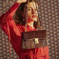 السيدات حقيبة سلسلة الأزياء المتخصصة واحدة الكتف رسول مربع صغير الفاخرة مصمم المرأة crossbody فتاة فتاة شابة