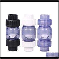 Pompes à air Accessoires DW Swing Aquarium Plomberie True Clear Union Check Vae 1inch128 pouces 25mm 32mm x Slip hl5dy do8TX