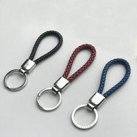 Neue Ankunft Mode M Marke Schmuck Edelstahl Schlüsselring Metal Keychain mit Logo für Männer Frauen
