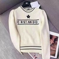 21SS Neue Womens Strits Herren Designer Pullover Pullover Hoodie Langarm Sweaters Sweatshirt 2021 Strickwaren Frauen Kleidung Winterkleidung