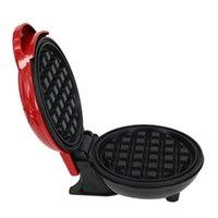 Pişirme Kalıpları Mini Elektrikli Waffle Makinesi Kabarcık Yumurta Kek Fırında Kahvaltı Waffle Makinesi Kızarmış Gözleme Pan Eggette Pot