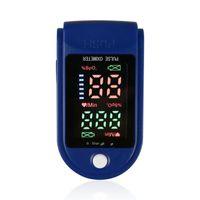 Vente en gros du doigt de l'oxymètre de pouls durable Spo2 moniteur de la saturation à l'oxygène de la saturation de l'oxygène LED Pulso Dedo Digital ProféSional Color Screen Portable Sleep