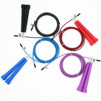 Jump Ropes 1PC 3M Skipping Rope Cable Steel Adjustable Fast Speed ABS Handle Training Sports Exercises Equipment