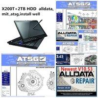 모든 데이터 소프트웨어 AllData 10.53 MIT ATSG 2TB HDD가 잘 설치된 X200T IAPTOP 터치 스크린을 사용할 준비가되었습니다.