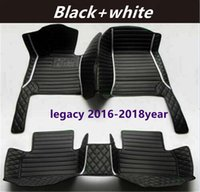 for Subaru legacy 2016-2018year Custom Car Splicing Floor Mats Waterproof Leather Wear-resistant Non-toxic Tasteless and Environmentally Friendly Foot Mats