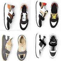 2021 Luxurys Tasarımcılar Ayakkabı Kontrolü Espadrille Boy Vintage Sneaker Erkek Kadın Platformu Ayakkabı Sepetleri Sneakers En Kaliteli Kutusu ile NO281