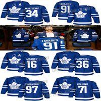 Toronto Maple Leafs Jersey 36 Джек Кэмпбелл 71 Ник Фолиньо 91 Джон Таварес 34 Остон Матфей 16 Митчелл Марнер 97 Джо Торнтон Хоккей