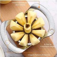 Strumenti di verdure di frutta Set 8 Affalto in acciaio inox Slicer Corer Machine Stirider Cutter Strumento di matrimoni Apple Splitter Accessori di alta qualità