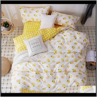 Sets Supplies Textiles Home & Garden38 4Pcs Girl Boy Kid Duvet Er Adult Child Bed Sheets And Pillowcases Comforter Bedding Set 2Tj-61016 Drop
