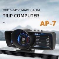 Multifunktions-Digitalzähler Alarmgeschwindigkeit Wasser-Temp-Messgerät-Öltemperatur Fehlfunktionstest-Monitore