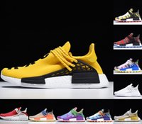 NMD Human Causse Casual Chaussures Respirez si l'inspiration Pack Noir BBC Coton Candy Nerd Blue Hu Pharrell Jaune Solaire Solaire Hommes Sports Sports Sports