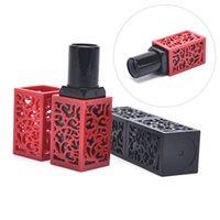 Contenitori cosmetici vuoti Bottiglia ricaricabile con tubo con rossetto cavo
