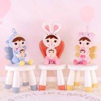 Gloveleya Peluş Oyuncaklar Anne ve Çocuk Keppel Dolması Hayvanlar Bebekler Sevimli Keppel Doğum Günü Noel Kız Çocuklar Için Hediyeler Oyuncak 210724