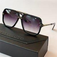 Men Fashion Frame Legends 6023 Grey De Sunglasses Sol Shaded Sonnenbrille Gafas Gold Crystal Square With Mens Box Lgckt