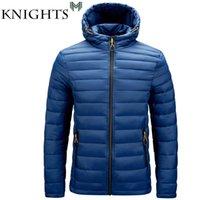 Sokak Şövalyeleri Kış Sıcak Su Geçirmez Ceket Erkekler Sonbahar Kalın Kapüşonlu Parkas Moda Rahat Ince Coat 6XL 210910