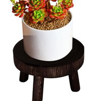 Planters & Pots Succulent Display Garden Bonsai Indoor Outdoor Flower Pot Plant Stand Shelf Free Standing Wooden Holder Balcony Home Decor S