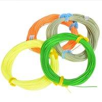 Cubierta de goma de nylon de nylon profesional Multifiamentas Peso delantero de la línea de pesca con cordón flotante de la trenza principal
