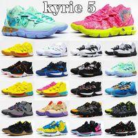 2021 Sponge X Kyrie 5 Piña Casa para hombre Zapatos de baloncesto Haming 5S Graffiti Mantenga Sue Fresh 20th Anniversary Man Sports Sneakers Y0E8 #