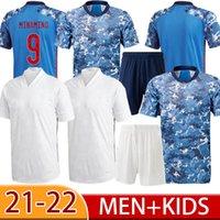 2021 Atom Capitão Tsubasa Japão Home Away Men Soccer Jerseys Qualidade Tailandesa 10 Nakajima Kagawa 22 Yoshida 9 Okazaki