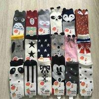 1 Pair Children Socks Cartoon Fox Totoro Pattern Style Baby Cotton Small Boy Girl Knee High Leg Warm Kids Christmas Sock