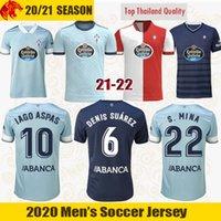 21 22 Celta de Vigo Maillot de foot IAGO ASPAS 2021 2022 BRAIS MENDEZ NOLITO S.MINA Maillot de football HUGO MALLO Shirt