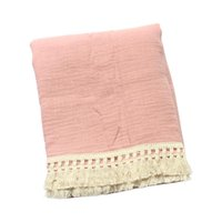 Baby Tassel Prowddle Wrap Pure Cotton Muslin Получение одеяло Pog Pograpt Rings QX2D Одеяла Swaddling