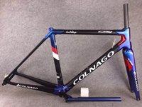 T1000 UD Matte Bleu Colnago Colnago C64 Cache de vélo de Vélo C64 Cadre de carbone de carbone 48/50 / 52/54 / 56cm
